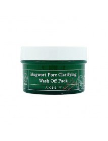 [AXIS-Y] Mugwort Pore Clarifying Wash Off Pack - 100ml