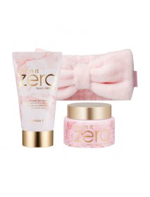 [BANILA CO] Clean It Zero Cleansing Balm Marble Edition Set - 1Pack (3items)