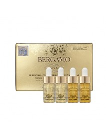 [BERGAMO] Luxury Gold Collagen & Caviar Wrinkle Care Intensive Repair Ampoule Set - 1Pack(4ea)