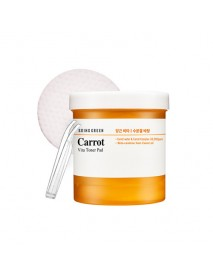 [BRING GREEN] Carrot Vita Toner Pad - 100pcs