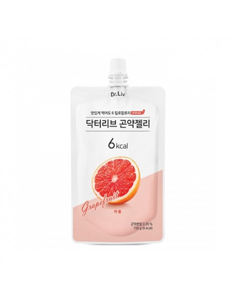 [Dr.Liv] Diet Konjac Jelly - 150g #Grapefruit