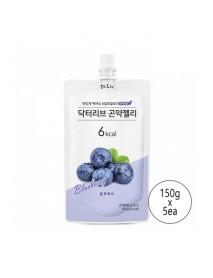 [Dr.Liv] Diet Konjac Jelly - 5ea (150g x 5ea) #Blueberry