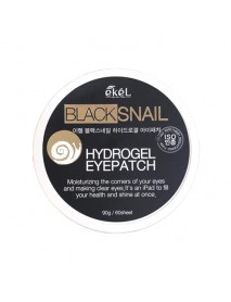 [EKEL] Black Snail Hydrogel Eyepatch - 90g(60pcs)