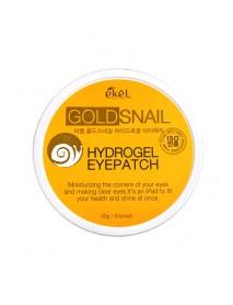 [EKEL] Gold Snail Hydrogel Eyepatch - 90g(60pcs)
