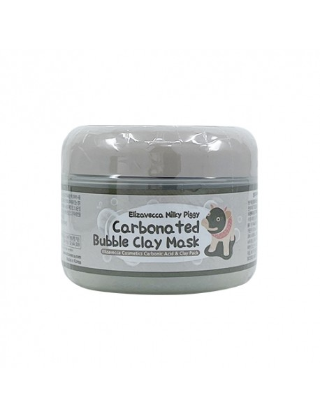 [ELIZAVECCA] Carbonated Bubbled Clay Mask - 100g
