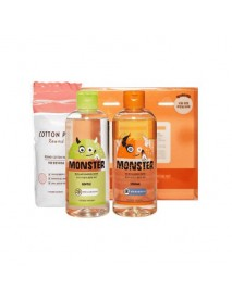 [ETUDE HOUSE_50% Sale] Monster Cleansing Water Duo Special Set - 1Pack (3items)