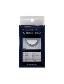 [ETUDE HOUSE] My Beauty Tool Eyelashes - 1Pack #2 Natural Brown