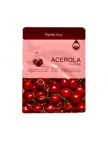[FARM STAY_BS] Visible Difference Mask Sheet -1Pack (10pcs) #Acerola