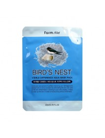 [FARM STAY_BS] Visible Difference Mask Sheet -1Pack (10pcs) #Bird's Nest
