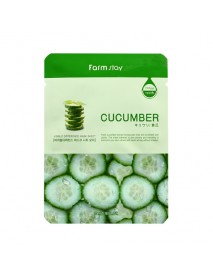 [FARM STAY_BS] Visible Difference Mask Sheet -1Pack (10pcs) #Cucumber