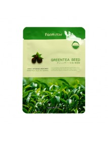 [FARM STAY_BS] Visible Difference Mask Sheet -1Pack (10pcs) #Greentea Seed