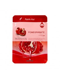 [FARM STAY_BS] Visible Difference Mask Sheet -1Pack (10pcs) #Pomegranate
