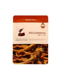 [FARM STAY_BS] Visible Difference Mask Sheet -1Pack (10pcs) #Red Ginseng