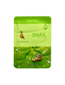 [FARM STAY_BS] Visible Difference Mask Sheet -1Pack (10pcs) #Snail