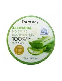 [FARM STAY] Moisture Soothing Gel Aloevera - 300ml
