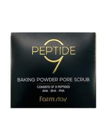 [FARM STAY] Peptide 9 Baking Powder Pore Scrub - 1Pack (7g x 25pcs)