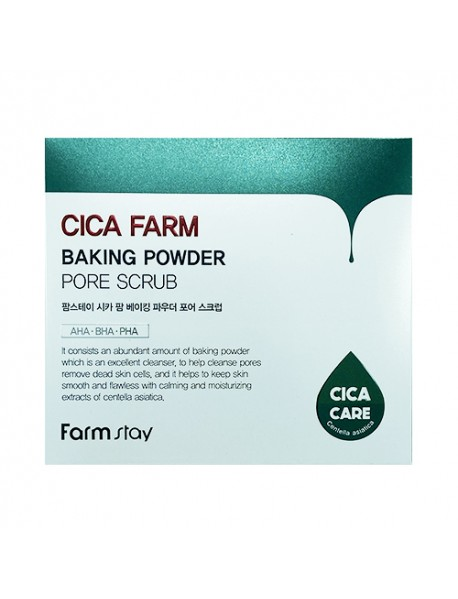 [FARM STAY] Cica Farm Baking Powder Pore Scrub - 1Pack (7g x 25pcs)