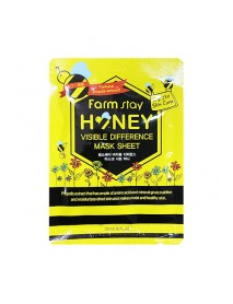 [FARM STAY_BS] Visible Difference Mask Sheet -1Pack (10pcs) #Honey