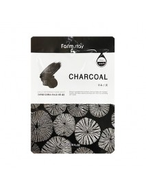 [FARM STAY_BS] Visible Difference Mask Sheet -1Pack (10pcs) #Charcoal