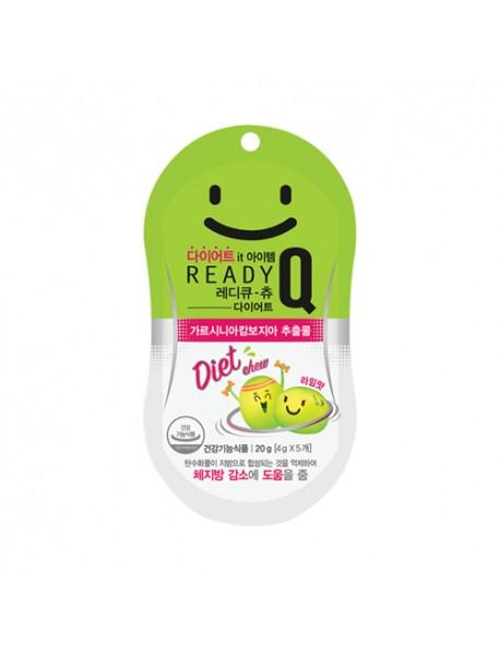 [HANDOK] Ready Q Chew Diet Lime Flavor - 1Pack (4g*5ea)