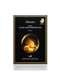 [JM SOLUTION_BS] Active Golden Caviar Nourishing Mask Prime - 1Pack (10ea)