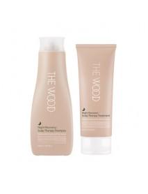 [J.ONE] The Wood Shampoo & Treatment Day/Night Limited Edition Set - 1Pack #Night-B