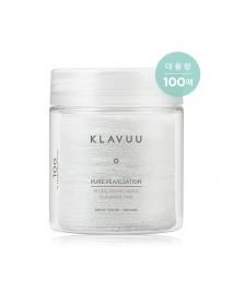 [KLAVUU] Pure Pearlsation pH Balancing Quick Cleansing Pad - 380ml (100pads)