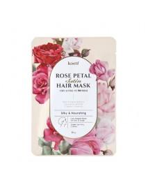 [KOELF_PKD] Rose Petal Satin Hair Mask - 1pcs