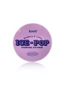 [KOELF_PKD] Bluberry & Cream Ice Pop Hydrogel Eye Mask - 1Pack (60pcs)