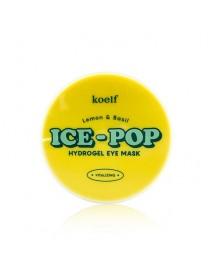 [KOELF_PKD] Lemon & Basil Ice Pop Hydrogel Eye Mask - 1Pack (60pcs)