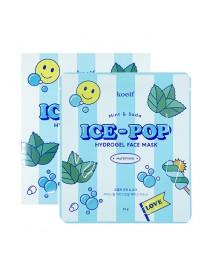 [KOELF_PKD] Mint & Soda Ice Pop Hydrogel Face Mask - 1Pack (30g x 5pcs)