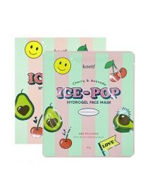 [KOELF_PKD] Cherry & Avocado Ice Pop Hydrogel Face Mask - 1Pack (30g x 5pcs)