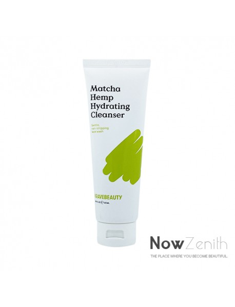 [KRAVE BEAUTY] Matcha Hemp Hydrating Cleanser - 120ml