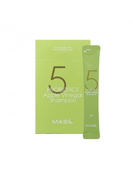 [MASIL] 5 Probiotics Apple Vinegar Shampoo - 1Pack (8ml x 20ea)