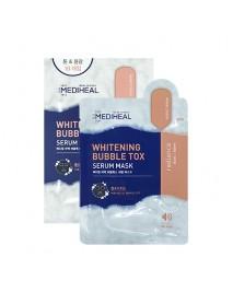 [MEDIHEAL] Whitening Bubble Tox Serum Mask - 1Pack (21ml x 10pcs)