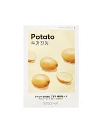 [MISSHA_50% Sale] Airy Fit Sheet Mask - 1pcs #Potato