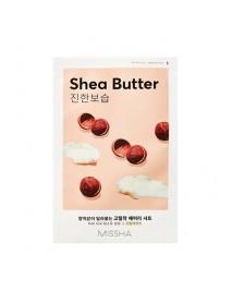 [MISSHA_50% Sale] Airy Fit Sheet Mask - 1pcs #Shea Butter