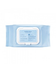 [MISSHA] Super Aqua Ultra Hyalron Cleansing Water Wipes - 1pack (30pcs)