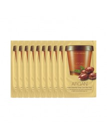 [NATURE REPUBLIC_SP] Argan Essential Deep Care Hair Pack Testers - 10pcs (10ml x 10pcs)