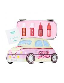[PERIPERA] Mini Travel Car Kit Coral - 1Pack (6items) (EXP : 2021.Dec.10)