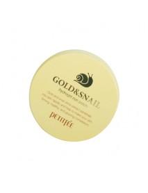 [PETITFEE] Gold & Snail Hydrogel Eye Patch - 1Pack(60pcs)