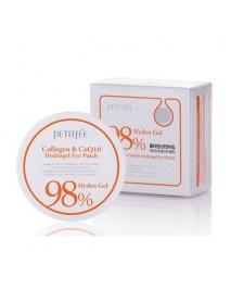 [PETITFEE_PKD] Collagen & CoQ10 Hydrogel Eye Patch - 1Pack (60sheets)