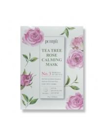 [PETITFEE_PKD] Tea Tree Rose Calming Mask - 1Pack (10pcs)