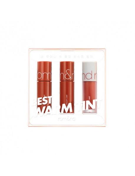 [rom&nd_PKD] Best Tint Edition - 1Pack (3items) #01 Warm Tone Pick (EXP : 2023. Apr. 01)