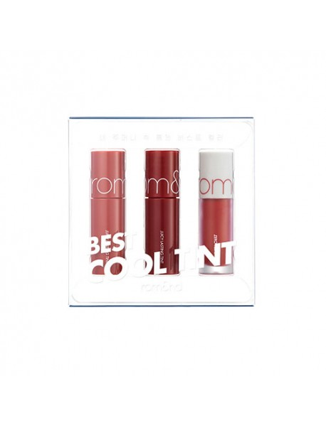[rom&nd_PKD] Best Tint Edition - 1Pack (3items) #02 Cool Tone Pick (EXP : 2023. Mar. 30)