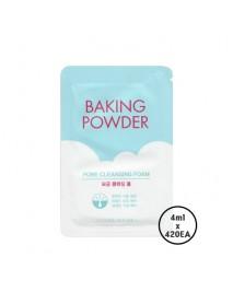 [ETUDE HOUSE_SP] Baking Powder Pore Cleansing Foam Testers - 1Box (4ml x 420ea)