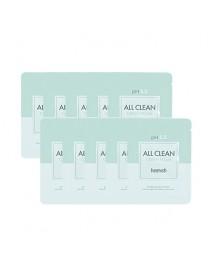 [HEIMISH_SP] All Clean Green Foam Testers - 10pcs (2ml x 10pcs)