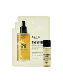 [NACIFIC_SP] Fresh Herb Origin Mask Pack Tester + Fresh Herb Origin Toner Tester - 1Pack (EXP : 2022. May)