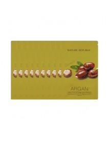 [NATURE REPUBLIC_SP] Argan Essential Deep Care Shampoo Testers - 10pcs (10ml x 10pcs)