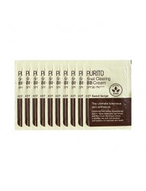[PURITO_SP] Snail Clearing BB Cream Testers - 10pcs (1g x 10pcs) #27 Sand Beige